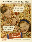 Advert for Du Pont Cellophane