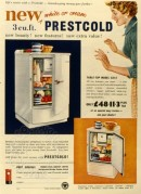 Advert for Prestcold Refrigerators