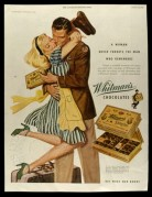 Advert for Whitman's Chocolates