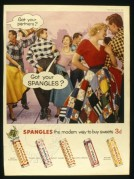Advert for Spangles