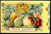 Label for White Peaches