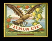 Lemon Oil Label