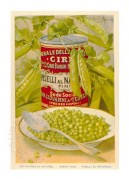 Advert for Cirio Green Peas