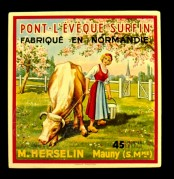 French Milk Label
