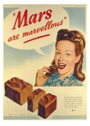 Advert for Mars