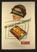 Advert for Nestles Milk Chocolate