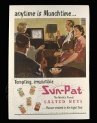 Advert for Sun-Pat salted nuts