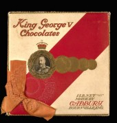 Cadbury King George Chocolate box