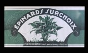 Label for Spinach