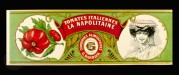 Label for Italian Tomatoes
