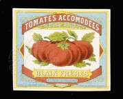 Tinned Tomatoes from France