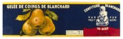Pear Jelly from Blanchard