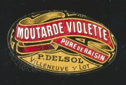 French Mustard Label