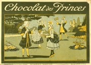 French Chocolate Box Label