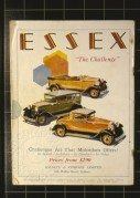 Advert for the Essex Challenge