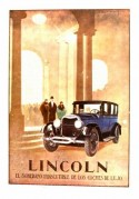 Advert for the Lincoln
