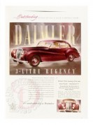 Advert for the Daimler Regency