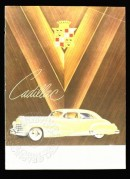 Advert for Cadillac cars