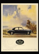 Advert for The Rover Seventy-Five