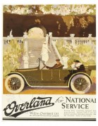 Advert for Willys-Overland Touring cars