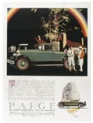 Advert for The Paige