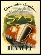 Advert for Renault cars