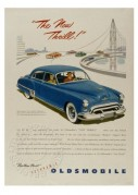 Advert for the Futuramic Oldsmobile