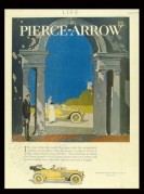 Advert for the Pierce-Arrow car