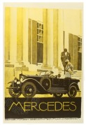 Advert for Mercedes cars