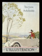 Front cover of L'Illustration l'Automobile et le Tourisme