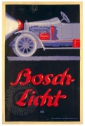 Advert for Bosch Headlights