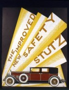 Brochure cover for the new safety Stutz