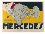 Swedish poster for Mercedes