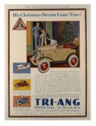 Magazine advert for Tri-Ang Motor cars