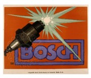 Advert for Bosch Spark Plugs