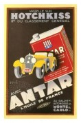 Advert for Antar Motor Oil