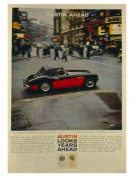 Advert for the Austin Healey 3000