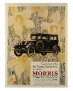 Advert for the Morris Cowley Saloon