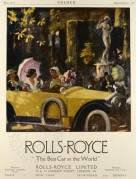 Advert for Rolls Royce