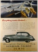 Advert for Sunbeam – Talbot