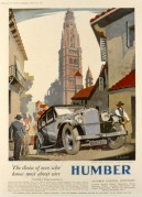 Advert for the Humber Snipe