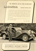 Advert for the Lagonda