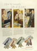 Advert for Arrow shirts, ties and handkerchiefs