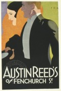 Poster for Austin Reed's of Fenchurch Street, London
