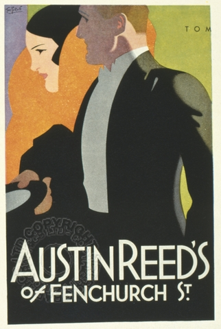 Poster For Austin Reed S Of Fenchurch Street London Retrograph