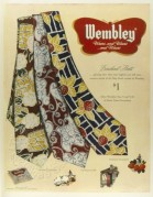 Advert for Wembley Ties