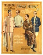 Catalogue cover for Weldon's Men's wear
