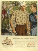 Advert for Arrow Sports Shirts