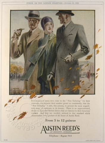 Advert For Austin Reed S Of Regent Street London Retrograph