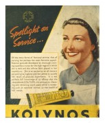 Advert for Kolynos toothpaste